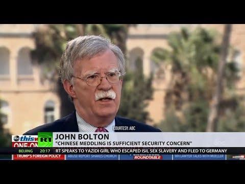 Not just Russians: China, North Korea & Iran may target US elections, Bolton says