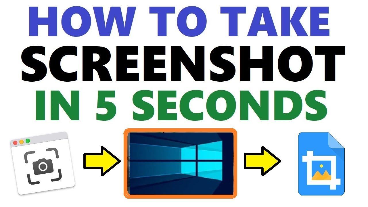 Take Screenshot Windows 10 - PrtScr Print Screen | Snipping Tool | Keyboard  PrntScrn Button Capture