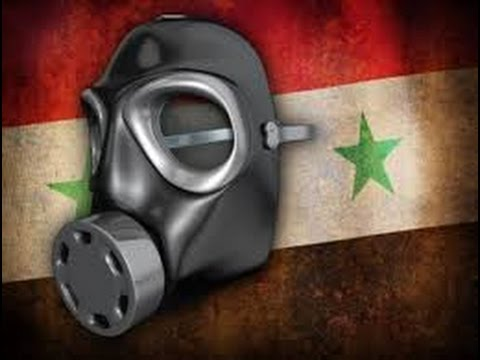 Reports of  chemical gas attacks in Syria where a Russian helicopter was downed a day earlier