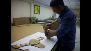 Como se hace un reno o alce en carton