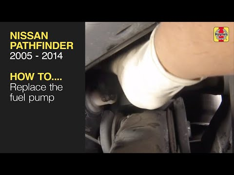 How to Replace the Fuel Pump on the Nissan Pathfinder 2005 to 2014