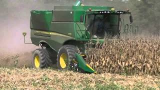 Murray Farms Corn Harvest 2014 Part 1