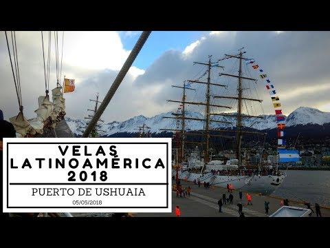 Velas Latinoamérica 2018, puerto de Ushuaia