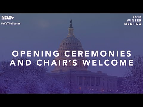 2018 Winter Meeting — Opening Ceremonies and Chair's Welcome & Plenary Session 1
