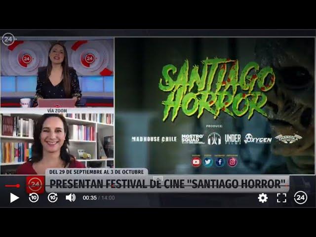 Entrevista a Blanca Lewin dentro del marco Santiago Horror 2020
