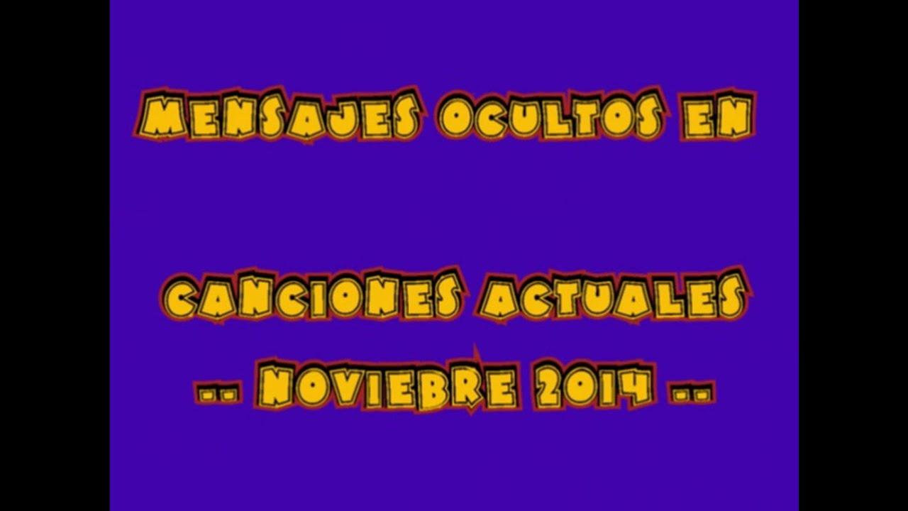 Canciones En Inglés Que Dicen Cosas En Español Noviembre 2014