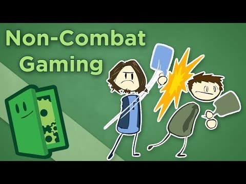 Non-Combat Gaming - How to Make Social Mechanics Fun - Extra Credits