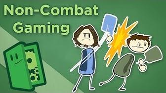 Non-Combat Gaming - How to Make Social Mechanics Fun - Extra Credits