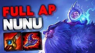 FULL AP NUNU JUNGLE - THE MOST FUN JUNGLE PICK IN LEAGUE