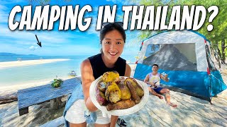 Beach Camping on a Reṁote Island in Thailand 🏕 Why You Must Come Here! Vlog#58