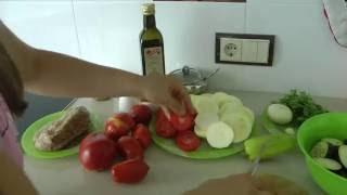 # Внимание! Вкусно и сытно - Рецепт - Рататуй с фаршем! # Запеченные овощи с мясом #
