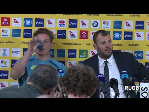 Full Press Conference: Cheika & Hooper