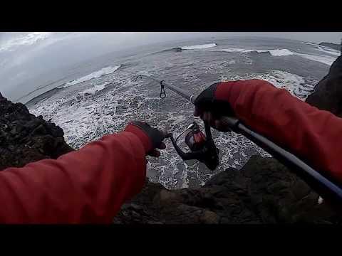 Extreme Rock Fishing Puncak Guha Garut Selatan