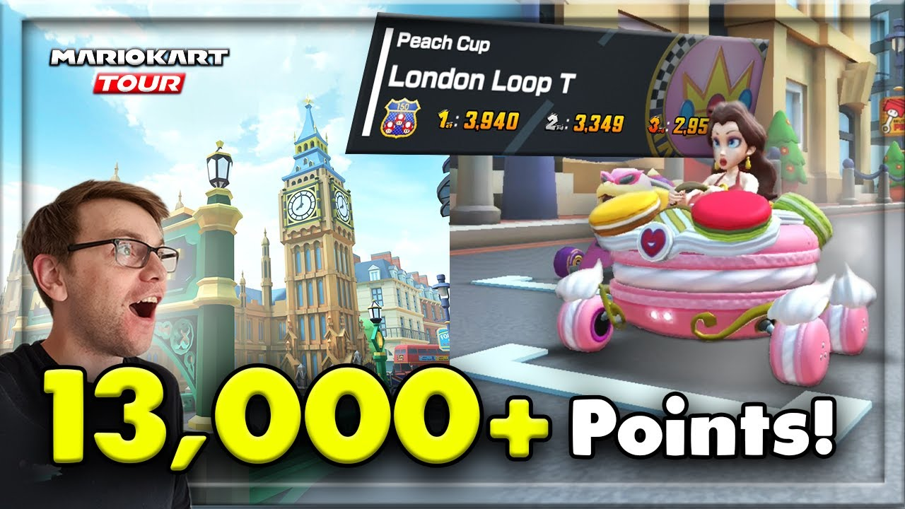 How To Score 13 000 Pts On London Loop T Mario Kart Tour