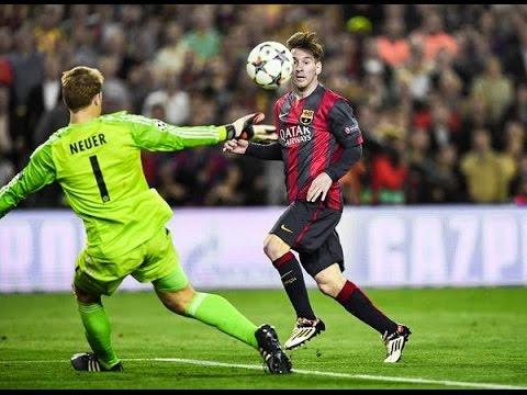 Lionel Messi - UEFA Champions League Goals Show 2014-2015 ...