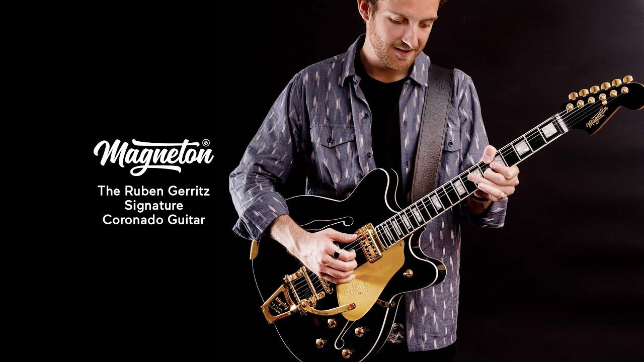 Magneton Ruben Gerritz Signature Coronado Guitar