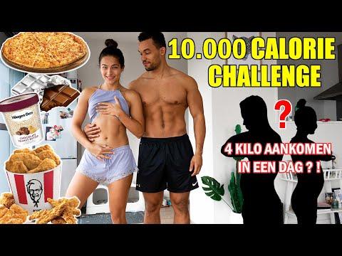 10.000 CALORIE CHALLENGE!