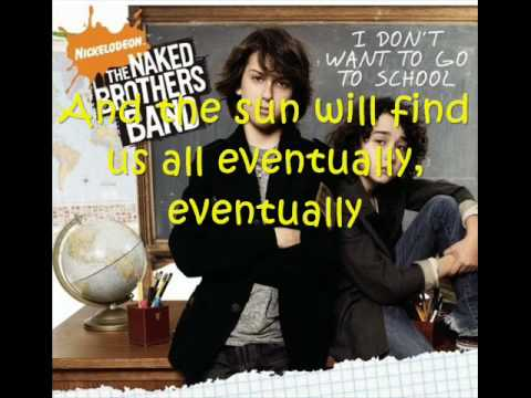 naked brothers band songs with lyrics