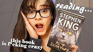 Reading Pet Semetary by Stephen King | Reading Vlog