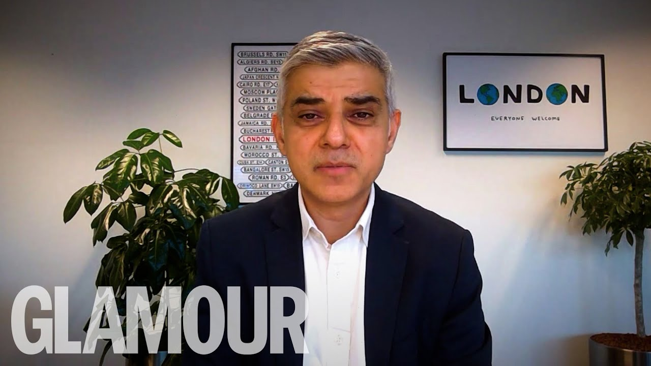 Sadiq Khan Talks To Two London Key Workers | GLAMOUR Unfiltered
