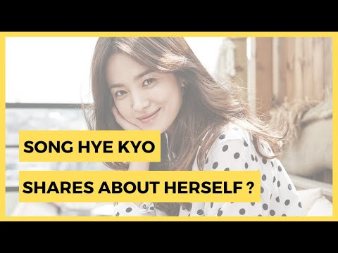 KOREAN CELEBRITIES LATEST NEWS   Song Hye Kyo Shares When She Feels Most Like Herself from YouTube · Duration:  1 minutes