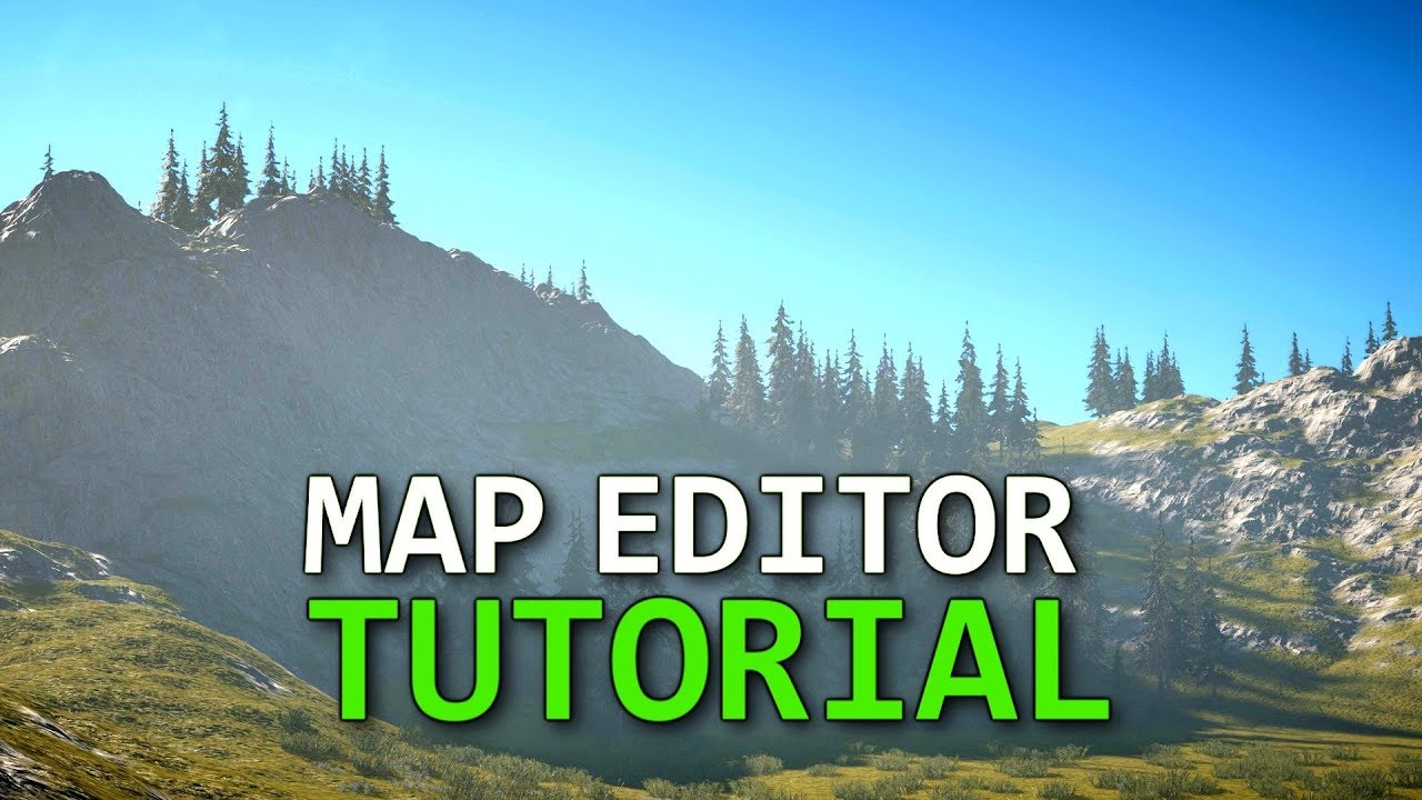 Ultimate Terrain Guide In Far Cry 5 Map Editor Tutorial Youtube