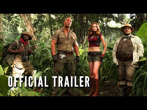 JUMANJI: WELCOME TO THE JUNGLE - Official...