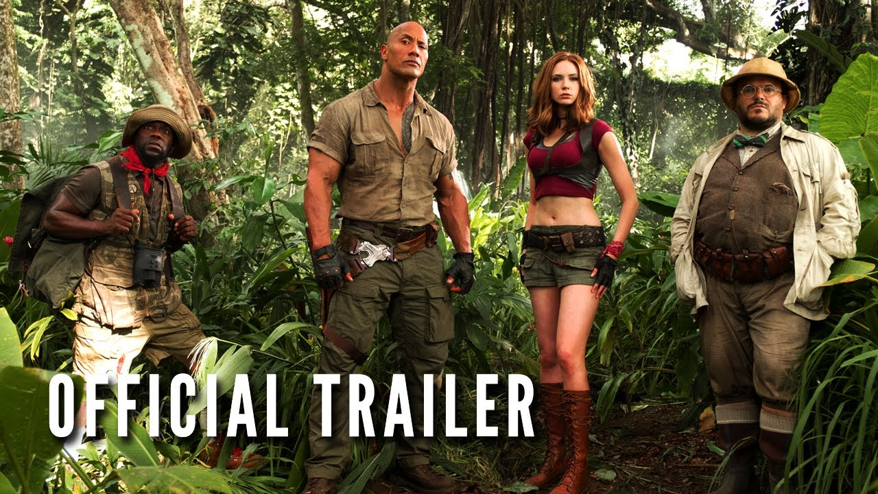JUMANJI: WELCOME TO THE JUNGLE - Official Trailer (HD