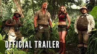 JUMANJI: WELCOME TO THE JUNGLE - Official Trailer (HD) thumbnail