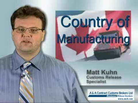 Importing from  the U.S. to Canada - what are the costs?