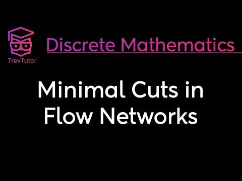 [Discrete Math 2] Minimal Cuts