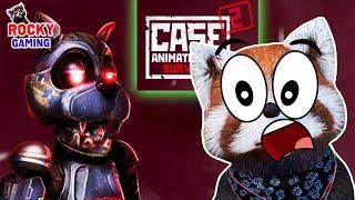 РОККИ играет в CASE 2 Animatronics Survival Фанатская игра по ФНаФ. Часть 1.