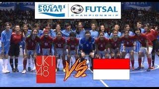 Video KOCAK!!! Futsal JKT48 VS Indonesia Woman All Star @Pocari Sweat Futsal Championship 2017 download MP3, 3GP, MP4, WEBM, AVI, FLV Desember 2017
