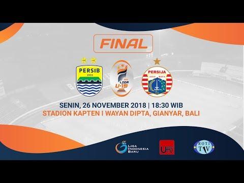 FINAL Liga 1 U-19 2018 | Persib Bandung VS Persija Jakarta