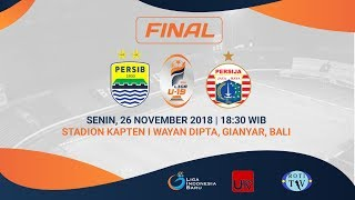 Download Video FINAL Liga 1 U-19 2018 | Persib Bandung VS Persija Jakarta MP3 3GP MP4