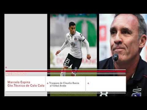 Marcelo Espina ratifica el traspaso de Claudio Baeza al fútbol Árabe