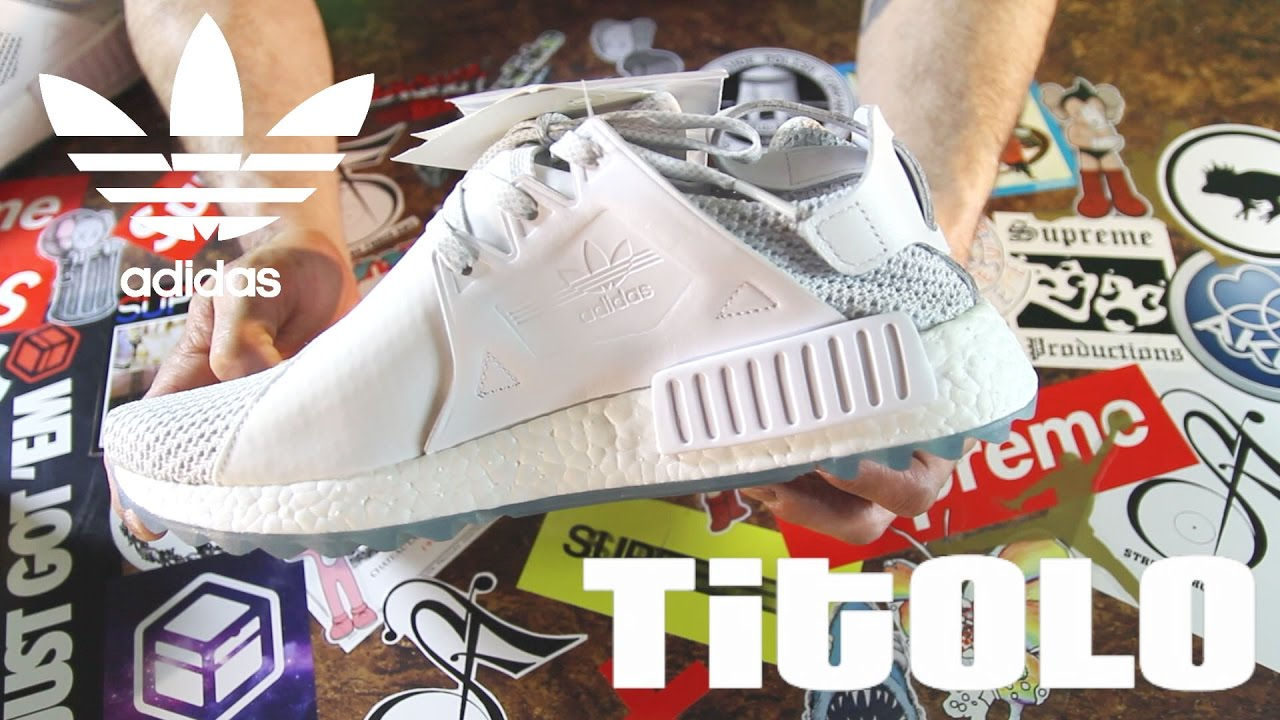 7f14c1bb7 Titolo x Adidas NMD XR1 Trail  Celestial  Unboxing and Review - YouTube