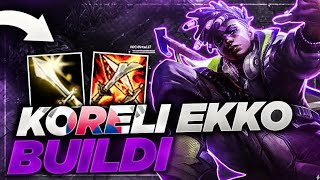 SEZON 10 EKKO BUİLDİ | KORE CHALLENGER METASI EKKO JUNGLE | KassadinsCreed