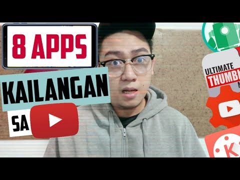8 Mobile APPS for Youtube Creators! 2019
