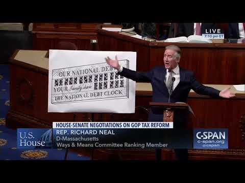 Ranking Member Neal Speaks on House-Senate Negotiations on GOP Tax Reform