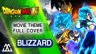 Cover images Dragon Ball Super Broly - Blizzard (Full Rock Cover)