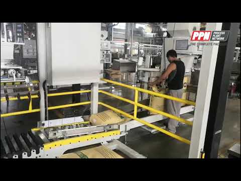 Iopak Portable Palletiser For Low Speed End Of Line Production
