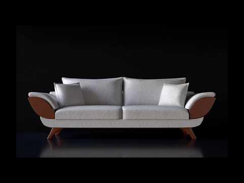 Cinema 4d Modelling Sofa