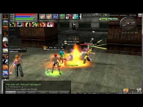 Ran Online PH Skills - video dailymotion