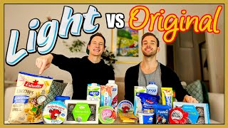 Light VS Original | Smakar det annorlunda?