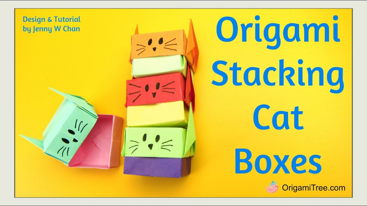 origami gift box instructions