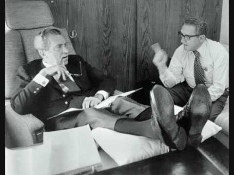 RICHARD NIXON TAPES: Henry Kissinger on Indians & Vietnam Bombings