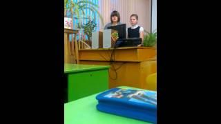 5 А класс на уроке День Защитника Отечества