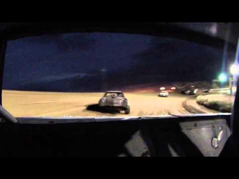 Joey Essary #90 Stock Car Heat Race 7/20/13 Central Arizona Raceway