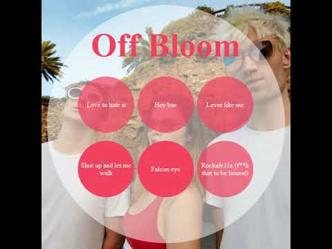 Off Bloom interactive cover